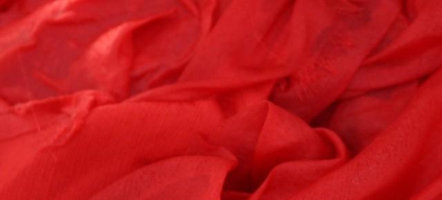 5月23日 紅花染め